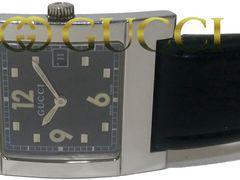 正規 激レア★グッチ 定価13万 7700M【スイス製】メンズ腕時計