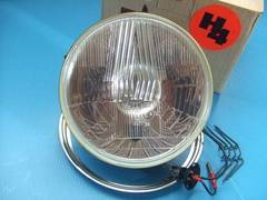 当時物 新品 シビエ凹レンズ ヘッドライト 旧車CB400F ホーク 1