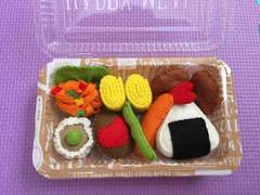 ハンドメイド フェルト ままごと お弁当 新品 セット No.3