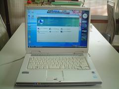 すぐ使える Vista SP2 マルチ 無線 NF50U Office2007入 綺麗