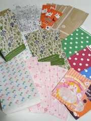用途いろいろ角底紙袋30枚パック☆柄いろいろお楽しみパック♪