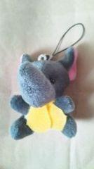 未使用 ゾウのぬいぐるみストラップ 動物