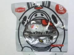 ハローキティ × Rody ハロウィン マスコットストラップ ゴースト Lipton(リプトン) 新品