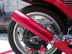 赤 エンデ サイレンサー 45 [BEET CB CBX CBR FX GS GSX XJR