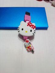 キティ 充電コード(巻き取り式)