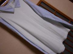 ナイスクラップ*袖シャツカットソー★クリックポスト164円