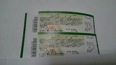 4/4ヤクルト対広島 3塁外野指定席A 最前列ペア!即決!
