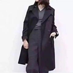 新品メゾンドリーファートレンチコート MAISON DE REEFUR 黒 36