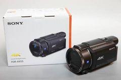FDR-AX55 新品未開封 SONY デジタル4Kビデオカメラ