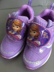 新品格安!《プリンセスソフィア》新柄マジックテープ靴17cm