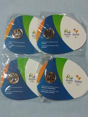☆リオデジャネイロ オリンピック・パラリンピック 公式記念コイン4枚セット☆リオ 2016