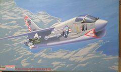 """1/48 ハセガワ・モノグラム アメリカ海軍 F-8E クルーセイダー""""ミグキラー"""""""