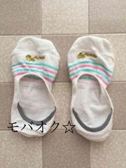 ☆愛用品★マリン柄フラットソックス★靴下☆