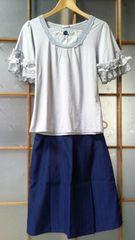 【即決】台形ミニスカート【1円】