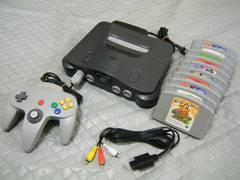 ●(お得なソ フト10本付)+Nintendo 64●