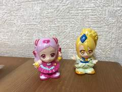 HUGっとプリキュア  すくい人形 ソフビ はぐっとプリキュア2個