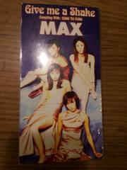 MAX*Givemeashake◯CDシングル美品!マックス!ギブミーアシェイク