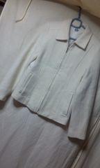 indio ジャケットコート 白 サイズM