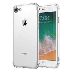 iPhone8 7 クリアケース TPU 全面保護カバー 耐衝撃