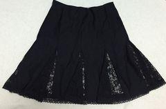 ディアマンテ☆黒×ヒョウ柄スカート
