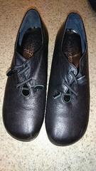 靴 24.5�p☆黒