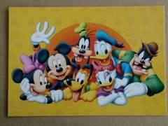 ミッキー&フレンズ★ポストカード