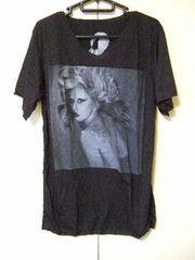 ◇ロックTシャツ◇Lady Gaga◇レディ・ガガ◇プリントTシャツ◇新品◇