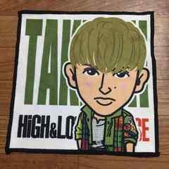 HiGH&LOW THE BASE GENERATIONS 佐野玲於 タケシ タオル ガチャ