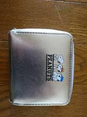 mini付録/ミルクフェドスヌーピー/二つ降り財布/未使用品