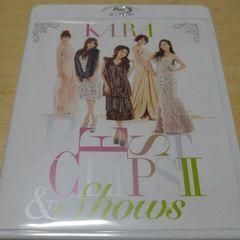 KARA BEST CLIPS�U&SHOWS/美品/Blu-ray/2枚組