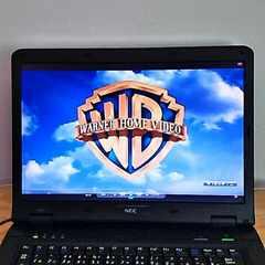 綺麗 大画面 格安即決○DVD Win7高性能2.2Ghz NECノートパソコン