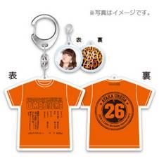 即決 2015年1月度 生誕記念Tシャツ型キーホルダー 梅田彩 新品