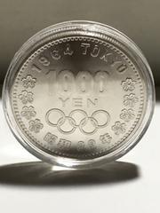 東京オリンピック1000円銀貨 未使用-カプセル入り