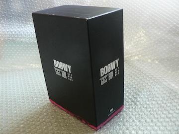 BOOWY『GIGS BOX』完全生産限定盤【8枚組DVD】豪華BOX仕様