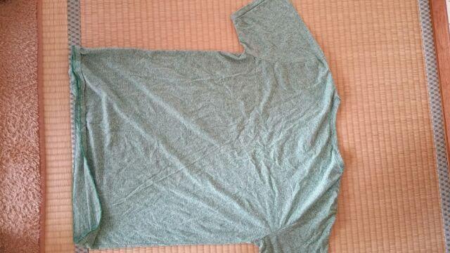 緑色の半袖Tシャツ【Sサイズ】 < 男性ファッションの
