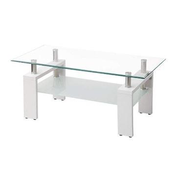 ガラステーブル 強化ガラス天板98cm