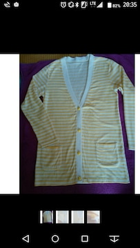 未使用!コシノヒロコ!綺麗なパステルカラーの柔らか羽織り
