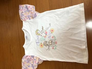 アナと雪の女王 半袖 Tシャツ 130