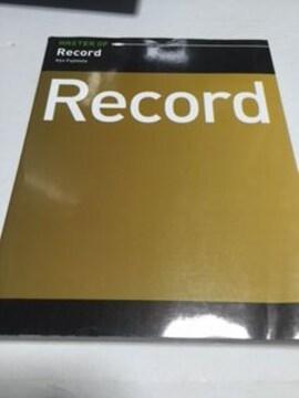 MASTER OF Record 中古本