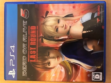 DEAD OR ALIVE5 Last Round 美品 PS4
