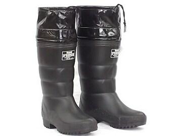 第一ゴム 紳士フレッシュ 防寒長靴 24.5cm 黒 国産 寒冷地使用