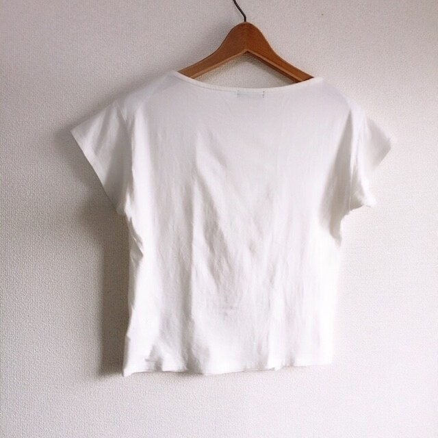 ◆COMME CA ISM/コムサイズム◆シンプル無地Tシャツ★ホワイトM*美品♪ < ブランドの