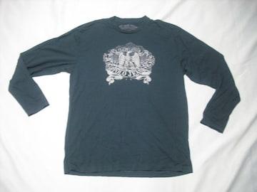 30 男 ラルフローレン ポロジーンズ 黒 長袖Tシャツ L