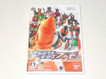 Wii★仮面ライダー クライマックスヒーローズ フォーゼ