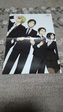 DRRR!! 両面ポスター