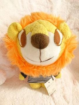 moujonjon/ムージョンジョン/ライオンキャラクターぬいぐるみ/丸高衣料/タグ付き