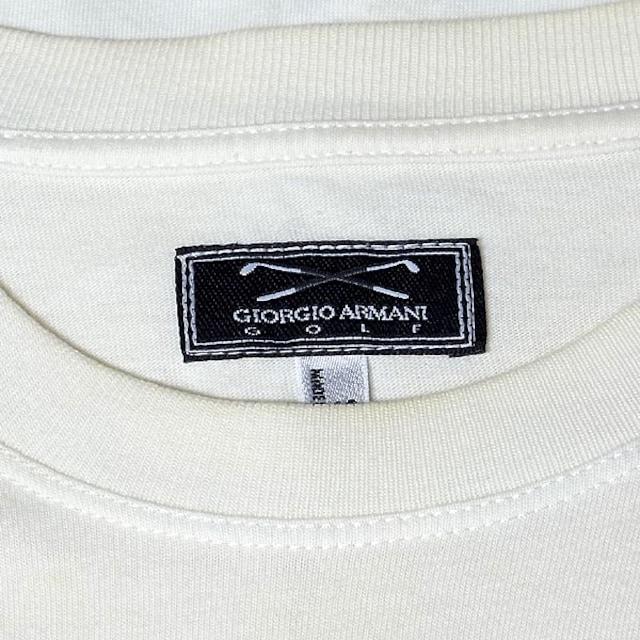 【ジョルジオ・アルマーニ/GIORGIO ARMANI】GOLF コットン T < ブランドの