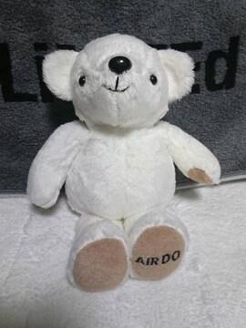 AIR DO/エアドゥ/キャラクター/ベアドゥ/クマ/くま/熊/ぬいぐるみ/Sサイズ/白色