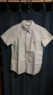 APE CLASSICS エイプxs 半袖チェックシャツ used