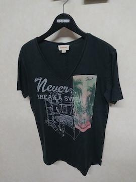 ディーゼル/DIESEL VネックTシャツ S